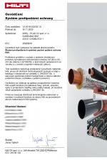 HILTI - certification