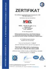 ISO 9001:2016 + 3834-2:2006 (DE)