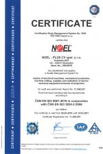 ISO 9001:2016 + 3834-2:2006 (EN)